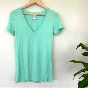 PINK v-neck t- shirt